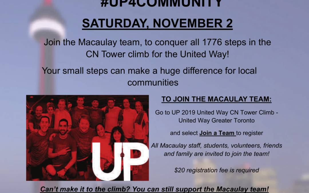 2019 United Way CN Tower Stair Climb