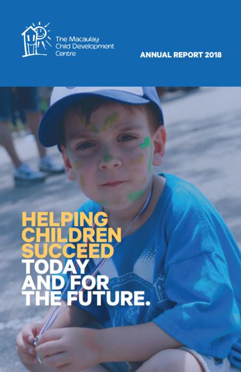 Macaulay Annual Report 2018