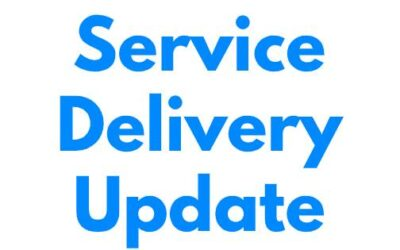 Service Delivery and Community Update