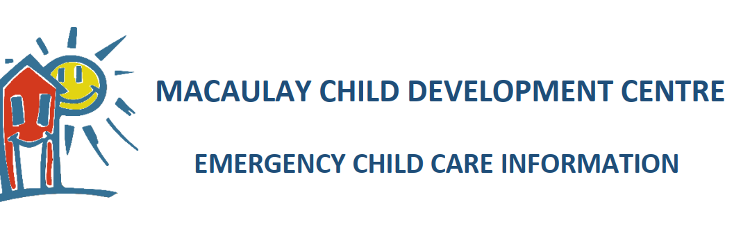 Update on Emergency Child Care at Macaulay (February 5, 2021)