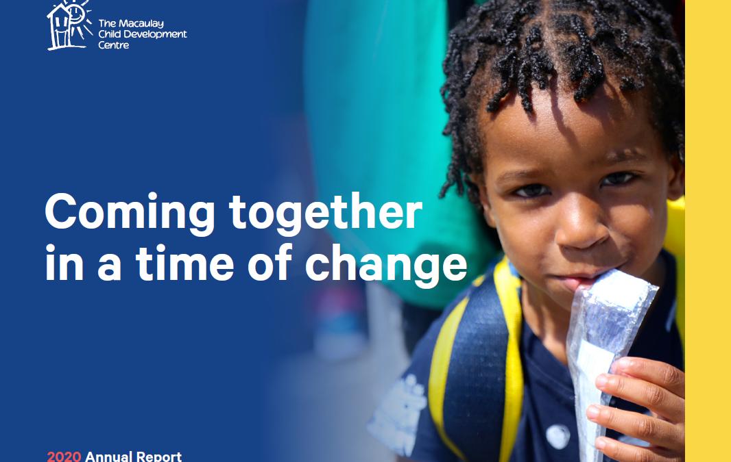 Macaulay Child Development Centre 2020 Annual Report