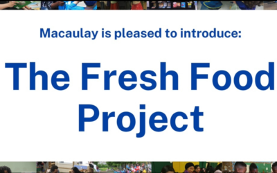 Macaulay Moment: The Fresh Food Project